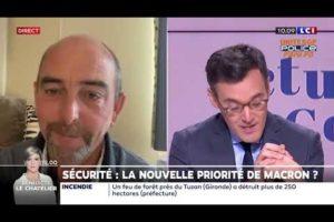 Yves Lefebvre revient sur la visite du Président de la République chez les policers nuiteux sur LCI