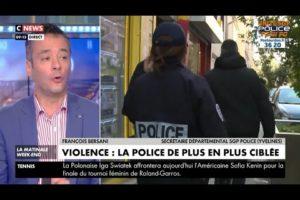 François Bersani s'exprime sur le manque de moyens dans la police et sur l'agression d'Herblay.