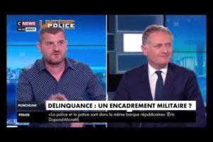 Grégory Joron dans Punchline de Cnews : Policiers, une colère enfin écoutée 2