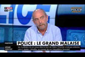 Yves LEFEBVRE sur CNEWS défend le métier de Policier