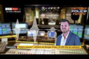 ⚠ Écoutez Grégory JORON réagir à la mise en examen de 4 collègues CRS