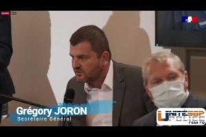 Intervention de Gregory JORON sur le thème du maintien de l'ordre lors du Beauvau de la Sécurité