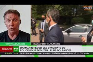 1ère réunion bilatérale, Bruno BARTOCCETTI interrogé par RT FRANCE