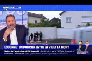 Un collègue percuté à Savigny-sur-Orge, intervention de Frédéric De Oliveira sur BFM TV