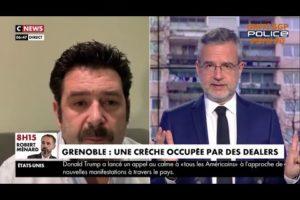 Brice Gajean sur Cnews : Une crèche occupée par des dealers !