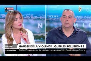 SPECTACULAIRE HAUSSE DE LA VIOLENCE EN FRANCE : Rocco CONTENTO sur CNEWS