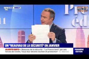 RÉPONSE D'EMMANUEL MACRON À UNITÉ SGP POLICE