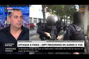 Rocco Contento intervient sur l'attaque au couteau du 25/09/2020