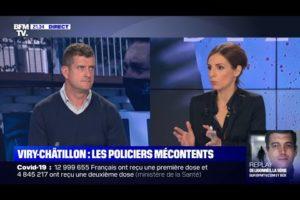 Les policiers mécontents du verdict de VIRY-CHATILLON :Jérôme MOISANT secrétaire national, sur BFMTV