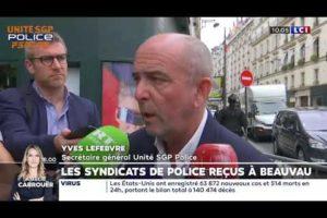 Yves Lefebvre commente son rendez vous ministériel devant les caméras de LCI