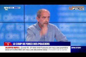 Yves Lefebvre commente le succès du rassemblement des policiers sur BFMTV