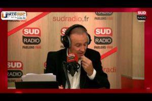 Linda KEBBAB sur Sud Radio au sujet des tags menaçant retrouvés sur un immeuble dans l'Essonne.