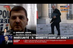 """VIOLENCES : Le Garde des Sceaux refuse le terme """"ENSAUVAGEMENT"""". Réactions de Grégory JORON sur LCI"""