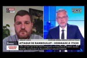 Retrouvez l'intervention de Grégory Joron sur la matinale de Cnews : Hommage à Stéphanie !