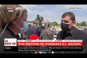 G JORON : Énormément de citoyens sont venus rendre hommage à Éric, apporter leur soutien à la police