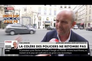 Yves Lefebvre sur CNEWS, annonce un mouvement illimité à partir de ce soir 18h00