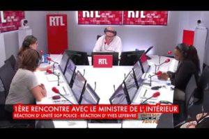 1ère rencontre avec le Ministre de l' Intérieur, UNITÉ SGP POLICE réagit, réaction d'Yves Lefebvre