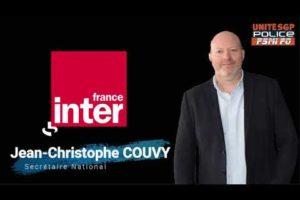 Ecoutez Jean-Christophe COUVY, secrétaire national, sur France Inter