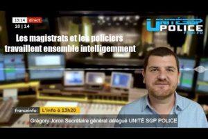 Annonce des états généraux de la Justice ! Réaction de Grégory Joron sur France Radio