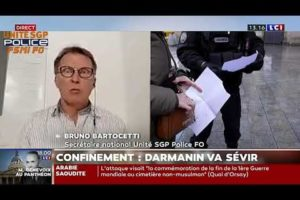 Bruno BARTOCCETTI secrétaire national chargé de la zone Sud intervient sur LCI