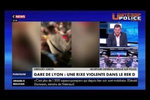 Gregory Joron balaye l'actualité brulante sur Cnews