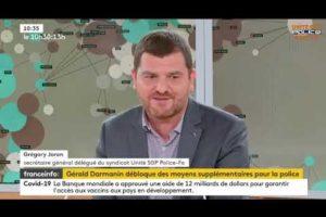 Greg JORON sur France TV suite à la nouvelle agression d'un policier sur Savigny-sur-Orge