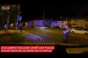 DOCUMENT UNITÉ SGP POLICE - POLICIER TRAÎNÉ SUR 500 MÈTRES