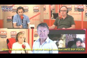 Bruno Bartoccetti sur SUD RADIO commente l'actualité suite aux annonces du Ministre de l'Intérieur