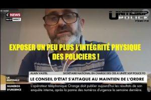 Alain Vastel réagit à l'annonce du Conseil d'État sur le maintien de l'ordre sur CNEWS