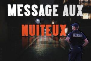 MESSAGE AUX NUITEUX