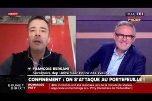 La répression, seule solution ? François BERSANI, secrétaire départemental des Yvelines, répond.