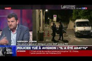 Assassinat d' un policier à Avignon - Greg Joron sur LCI