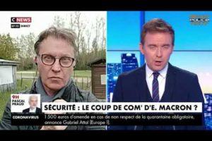 Bruno BARTOCETTI sur CNEWS concernant le déplacement du Président de la République à Montpellier.