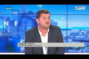 Greg JORON sur Europe 1 concernant la réponse attendue par les policiers contre les trafic de drogue