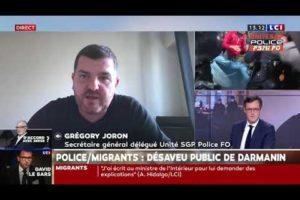Evacuation de migrants : Gregory JORON sur LCI