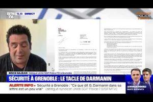 Brice GAJEAN sur BFM le 28/08/2020 réagit au courrier du M.I. au maire de Grenoble