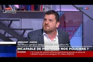 Grégory JORON UNITÉ SGP POLICE : Les policiers en ont « plein le cul » d'être pris pour cible...