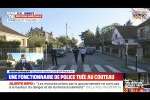 Jérôme MOISANT, SN UNITÉ SGP POLICE intervenait sur BFM à propos de l'attaque de Rambouillet
