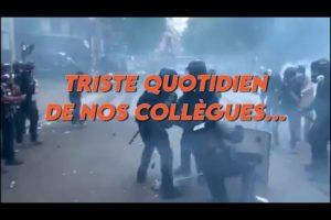 TRISTE QUOTIDIEN DE NOS COLLÈGUES...