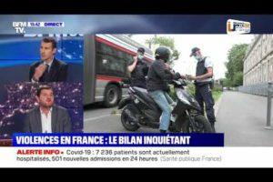 """VIOLENCES EN FRANCE : """"La réponse ne peut pas être que policière !"""" Grégory JORON sur BFM"""