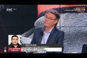 Brice GAJEAN dans les GG intervient sur la vidéo de dealers armés au quartier Mistral à Grenoble