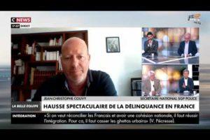 QUELLES SOLUTIONS FACE À LA FLAMBÉE DE LA DÉLINQUANCE EN FRANCE ? Jean-Christophe COUVY sur CNEWS