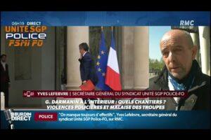Gérald DARMANIN à l'Intérieur : Yves LEFEBVRE chez JJ BOURDIN DIRECT