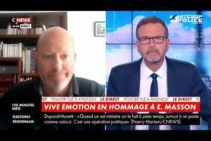 """Jean-Christophe COUVY UNITÉ SGP POLICE : """"On souhaite que la nation soit derrière nous."""""""
