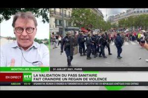 «L'application du pass sanitaire risque de rebooster les casseurs», estime Bruno Bartocetti
