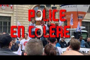 POLICIERS EN COLÈRE LE 17 JUIN DEVANT LA PRÉFECTURE DE PARIS