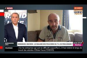 Emmanuel MACRON et le malaise des policiers : Yves LEFEBVRE sur CNEWS