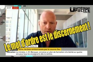 Jean-Christophe Couvy traite des problèmes du couvre feu sur FRANCE INFO