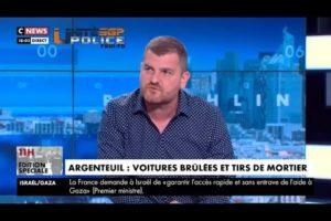 """Gregory JORON sur CNEWS: """"Policiers: une colère enfin écoutée ?"""" (1ère partie)"""