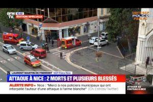 URGENT ! ATTAQUE À L'ARME BLANCHE À NICE : Laurent MARTIN DE FRÉMONT sur BFM